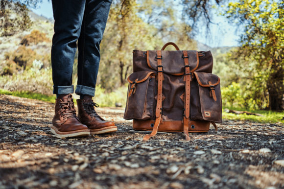 Buffalo Jackson Dakota Waxed Canvas Rucksack