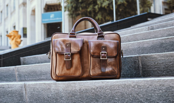 Thursday Boots Continental Briefcase