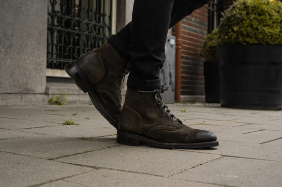 """Thursday Boots Captain Boot """"Olive"""""""